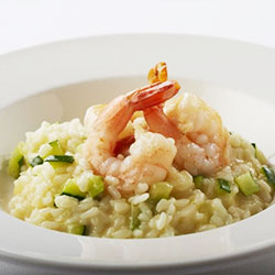 Prawn and zucchini risotto thumbnail