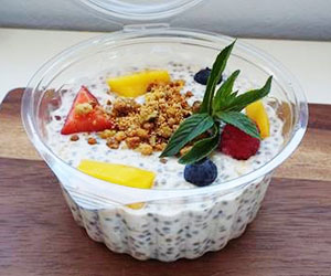 Coconut and chia bircher cup - 250ml thumbnail
