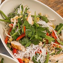 Thai Asian chicken salad thumbnail