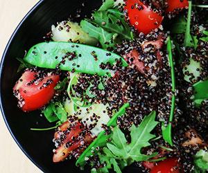 Black quinoa salad thumbnail