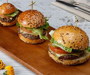 American cheeseburger slider thumbnail