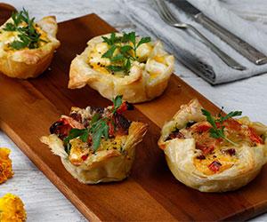 Breakfast quiche - mini thumbnail