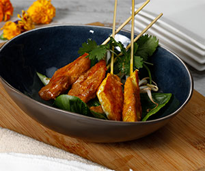 Chicken satay skewer thumbnail