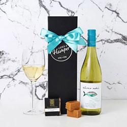 Silver Moki White Wine Hamper thumbnail
