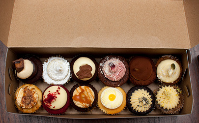Assorted standard cupcake box thumbnail
