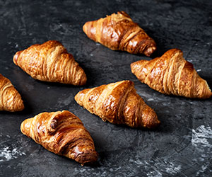 Plain croissant - mini thumbnail