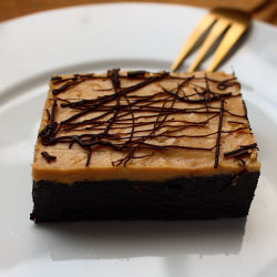 Peanut butter and chocolate fudgy brownie thumbnail