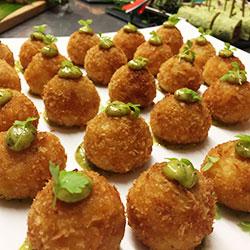Thai arancini balls thumbnail