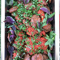 Mediterranean kofte meatballs thumbnail
