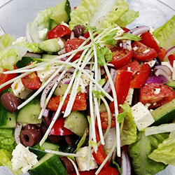 Greek salad bowl thumbnail