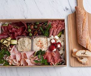 Antipasto platter - serves 10 to 15 thumbnail
