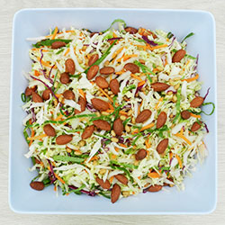 Asian slaw with cashews thumbnail