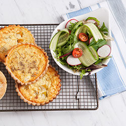 Quiche and salad thumbnail