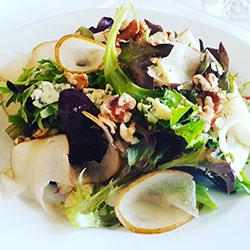 Pear, blue cheese and walnut salad thumbnail