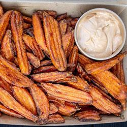Sweet potato fries box - serves 7 thumbnail