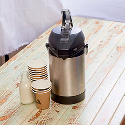 Freshly brewed coffee urn - serves up to 10 thumbnail