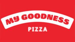 My Goodness Pizza logo