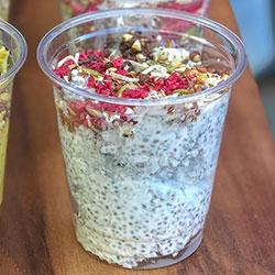 Chia pudding cup - 250ml thumbnail