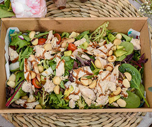Chicken and macadamia salad thumbnail