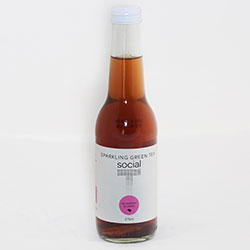 Social T sparkling iced tea - 275ml thumbnail