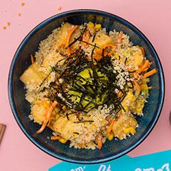 Sesame tofu poke bowl thumbnail