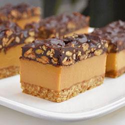 Salted caramel slice thumbnail