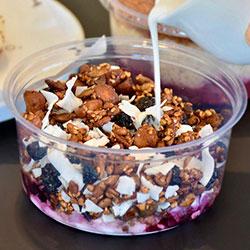 Blueberry coconut granola pot thumbnail