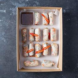 Rice paper rolls platter thumbnail