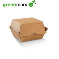 Burger Box / Brown Corrugated Kraft - Plain thumbnail