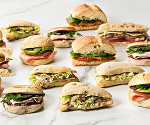 Mixed gourmet bread platter thumbnail