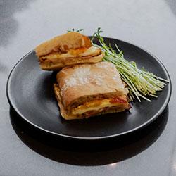 Bacon and egg rolls - mini thumbnail