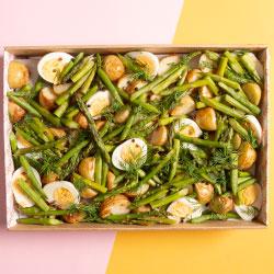 Asparagus salad thumbnail