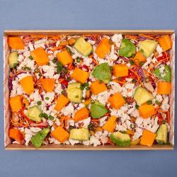 Rainbow chicken salad thumbnail