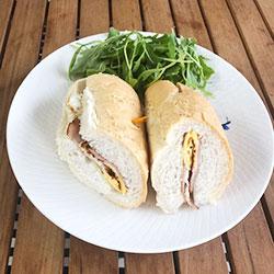 Breakfast panini thumbnail