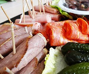 Charcuterie meat platter thumbnail