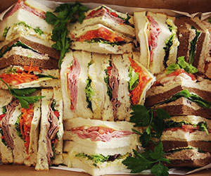 Popular point sandwiches - serves 4 to 5 thumbnail