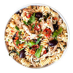 Chicken pasta salad thumbnail