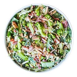 Shaved broccoli and bacon salad thumbnail