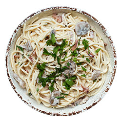 Spaghetti boscaiola thumbnail