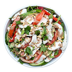 Poached chicken salad thumbnail