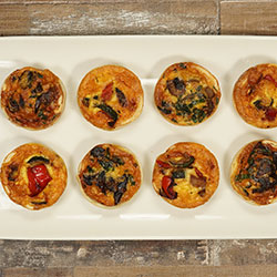 Assorted quiche - mini thumbnail