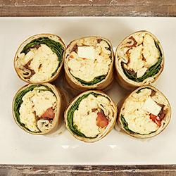 Veggie breakfast wrap thumbnail