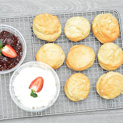 Classic house baked scones - medium thumbnail