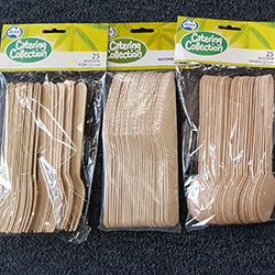 Wooden cutlery - 15.5cm - Alpen thumbnail