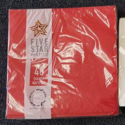 Dinner napkins - Five Star Party Co - 20cm thumbnail