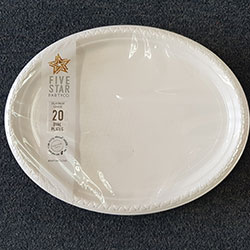 Oval plates - 12 inches thumbnail