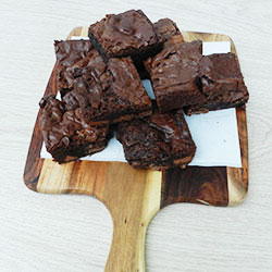 Gluten free chocolate brownie thumbnail