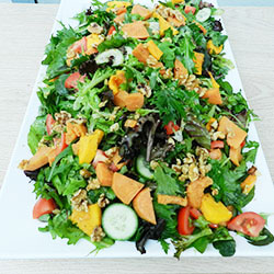 Roast vegetables and quinoa salad thumbnail