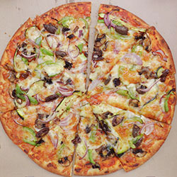 Vegetarian pizza thumbnail
