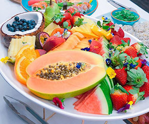 Fruit platter - serves 8 to 10 thumbnail
